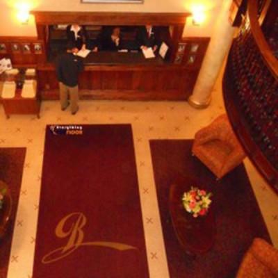 Logolu Otel Halısı