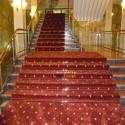 gül 2 Merdiven Dip Çubuğu Dip Çubuğu kalın ayak