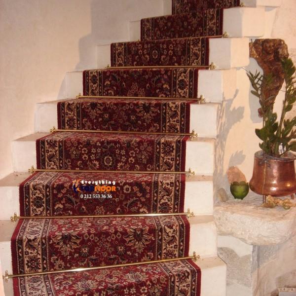 Yasemin 2 Pirinç Merdiven Dip Çubuğu